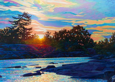 "A New Day's Dawning 36"" by 60"""