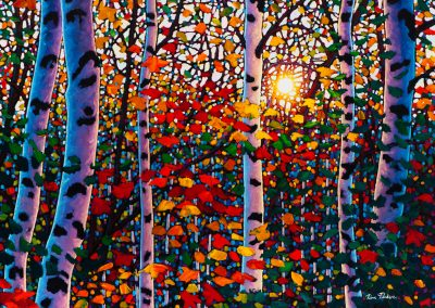 "Autumn Jewels, Algoma, 30"" by 40"""