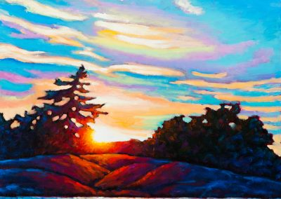 "Burnished Morning 16"" by 16"""
