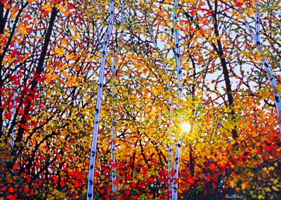 """For the Love of Autumn 36"""" by 48"""""""