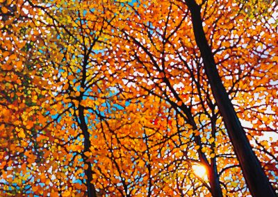"""Russet Hues of Autumn"" 36"" by 36"""